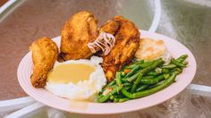 Fried Chicken Dinner from the Plaza Inn in Disneyland.  Said to be the best fried chicken you'll ever have anywhere!