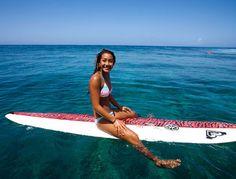 Kelia Moniz - love her board!