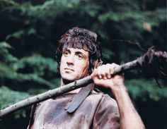 A gallery of First Blood publicity stills and other photos. Featuring Sylvester Stallone, Brian Dennehy, Richard Crenna, Jack Starrett and others. Stallone Movies, Brian Dennehy, John Rambo, First Blood, Sylvester Stallone, Great Movies, Jon Snow, Behind The Scenes, Hollywood