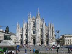 Milan Cathedral.  Nearly six centuries in the making and the 5th largest cathedral in the world.  Amazing Gothic architecture.