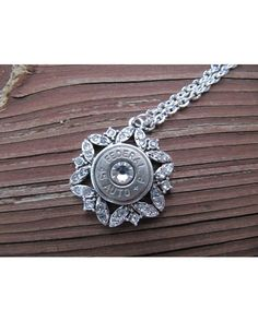 Jill's Jewels Women's 45 Caliber Bullet Necklace With Rhinestones - Silver  http://www.countryoutfitter.com/products/67783-womens-45-caliber-bullet-necklace-with-rhinestones?lhs=u_p_p_n_a&lhb=MP&lhc=womens_jewelry&lhg=jill%27s%20jewels&utm_source=pinterest&utm_medium=social