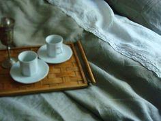 Linen sheet set top sheet set lace trim linen flat sheet queen