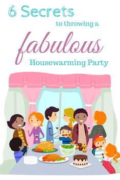 Plan A Housewarming Party Housewarming Party Stamps And