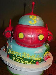 Rocket cake for Little Eintsteins Party