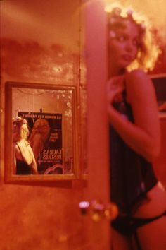 "Nan Goldin from""variety"" eerie 1983"