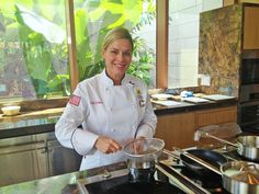 Iron Chef Cat Cora is in town to set up Ocean Restaurant by Cat Cora at Marine Life Park's S.E.A. Aquarium. What's her favourite local dish?