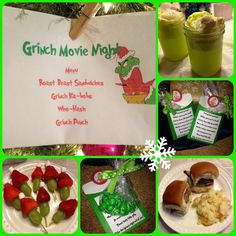 Everything's More Fun in a Tutu: Themed Movie Night: Grinch Who Stole Christmas