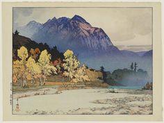 Artist: Yoshida Hiroshi Title:Hodakayama after Rain (Ugo no Hodakayama) Date:1927