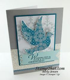 Calm Christmas stamp set