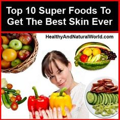 Top 10 super foods for your skin