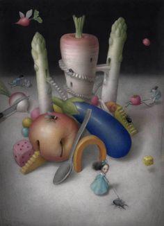 Night walk-Nicoleta Ceccoli