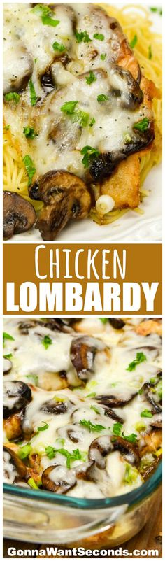 This Chicken Lombardy recipe makes a marvelous, memorable meal with just a few ingredients and a bit of Marsala magic.