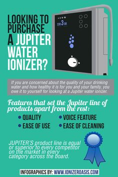 Looking to Purchase a Jupiter Water Ionizer? http://www.ionizeroasis.com/pages/looking-to-purchase-a-jupiter-water-ionizer.html