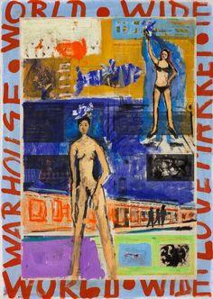 "Saatchi Art Artist Ahmed Borai; Painting, ""World Wide Warehouse.prêt-à-porter.nude"" #art"