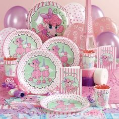 Pink Poodle Birthday Party