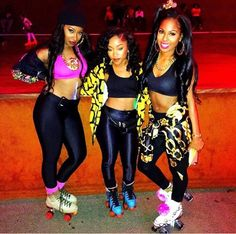 80s Party Costume Parties Birthday Skate 23rd Theme Fashion Outfit Style