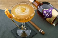 The Winner Drink from Lukas Hochmuth at the Toast of Paris International Cocktail Competition Courvoisier