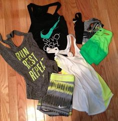 Nike workout clothes♥