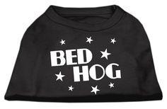Mirage Pet Products 12-Inch Bed Hog Screen Printed Shirt, Medium ** See this great image  : Dog Shirts