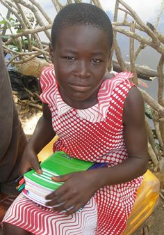 Alaffia collects and donates school supplies every year to send to students in Togo.