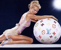 "lelaid: "" Eva Herzigova by Mert & Marcus for Louis Vuitton S/S 2003 """