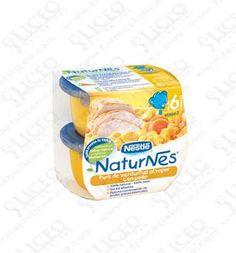 NATURNES PURE VERDURITAS AL VAPOR CON POLLO 200 GR NESTLE