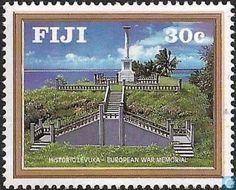 Postage Stamps - Fiji - Levuka