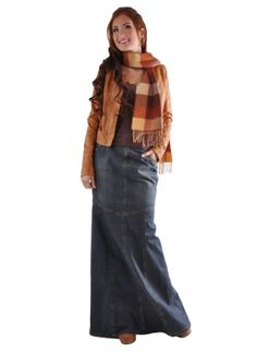 Winter clothes - Not Type 4 clothing, but I like the long jean skirt.