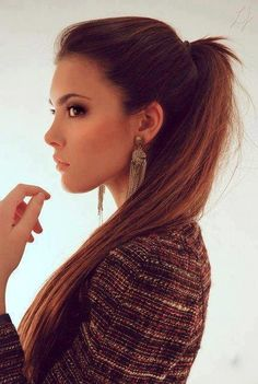 There's something about this ponytail that I like...