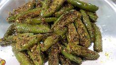 बिना भूख सिर्फ इस हरीमिर्च से ही चार-चार रोटी खा जाएंगे अगर ऐसे बनाएँगे ये हरीमिर्च - YouTube Chilli Pickle Recipe, Green Chilli Pickle, Chilli Recipes, Gujarati Cuisine, Vegetable Curry, Curries, Asparagus, Green Beans, Make It Yourself