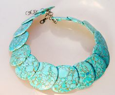 beautiful faux turquoise