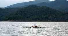 Lake Moomaw Swim coming up and you could win a free entry! Open Water Swimming, Free Entry