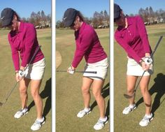 This Chip Shot Drill Teaches You to Keep Club Moving Through Impact: Keep Hands In Front of Clubface for Good Chipping Results