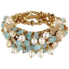DANIELA FARAH Bracelet ($230) found on Polyvore