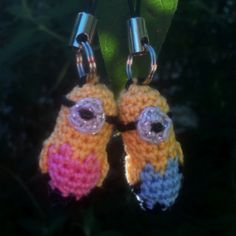 Use Crocheting In A Sentence : Minions I made using size 10 crochet thread and a size 8 steel crochet ...