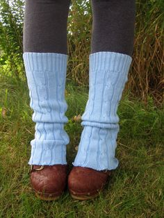 Reconstructed Sweater Leg Warmers