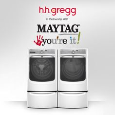 """Win a $100 h.h. gregg Gift Card, plus the """"Maytag You're It"""" Sweepstakes!"""