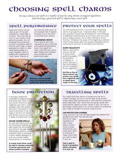 Magick Spells: Choosing #Spell Charms.