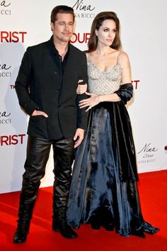 Angelina Jolie  and Brad Pitt, Celebrity Photos | Hollyscoop