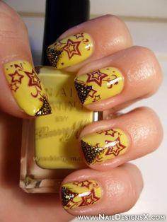 stars 4 nail design