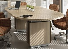 Conference Room Furniture - #Z48120RTEZira's boardroom furniture pieces strike a perfect balance between style and technology. This sleek, cool office furniture line boasts an array of size, shape, and color choices as well as integrated power and technology options. You can get anything you want from Global's extensive collection of conference tables and chairs.