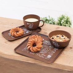FUNASSYI Bakery Cafe ウッド調スクエアトレー | キッチン | ふなっしーLAND 公式WEB SHOP