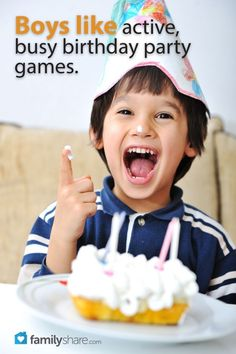 Throw a boy bash: 5 games for boy birthday parties