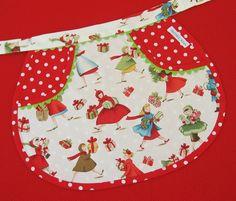 Christmas child's apron