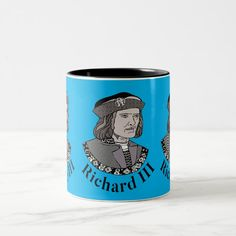Richard III King of England Two-Tone Coffee Mug - tap, personalize, buy right now! #richardiii #englishmonarchy #englishhistory #historybuff #historygift #historystudent Richard Iii Society, King Richard, Anniversary Quotes, Love Messages, Keep It Cleaner, Funny Jokes, Create Your Own, Coffee Mugs, England