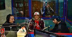 De izquierda a derecha, Jordi Ingles de Massonisport, Garcia Vico de Team Honda Vico y Michel Berti, piloto profesional de Raids y Rallys.