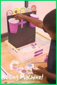 Smedley's Smorgasboard of Kindergarten: A Kindergarten Smorgasboard Adding Machine and Celebrity Guest Appearance!
