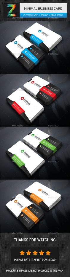 Buy Modern Business Card by Zavad on GraphicRiver. Vertical Business Cards, Black Business Card, Minimalist Business Cards, Modern Business Cards, Business Card Design, Creative Business, Corporate Business, Card Templates, Flyer Template