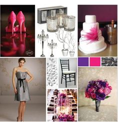 pink purple gray
