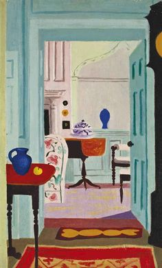 'Le salon blanc', 1959 - Jean Hugo (1894-1984)